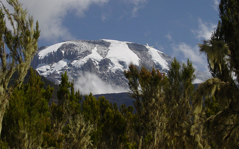 Our first up close look at Kilimanjaro