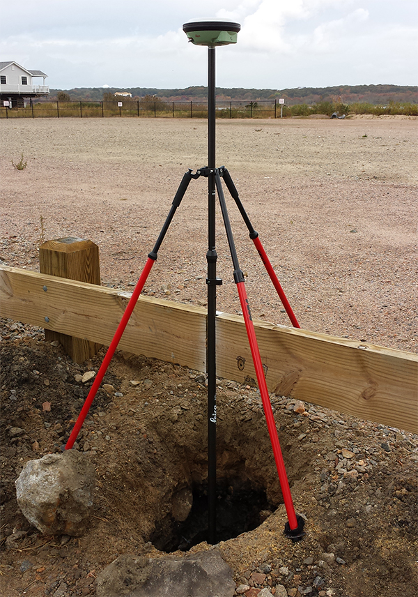 Surveying with Global Positioning System